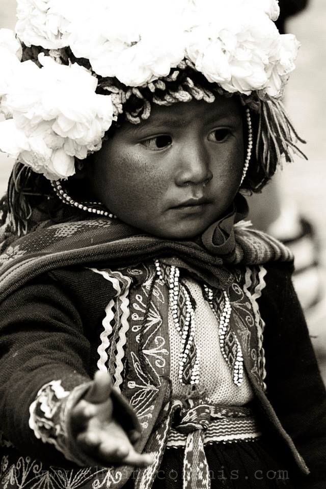 Beggar girl, Peru