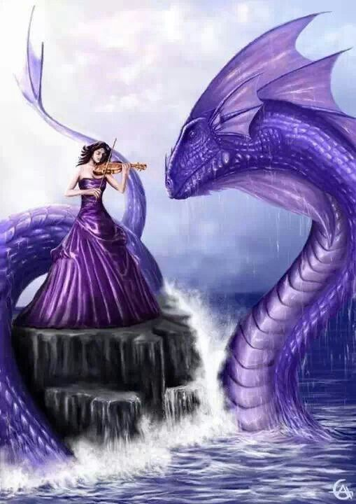 ♅Mythical Sea Creatures♅ sea serpent