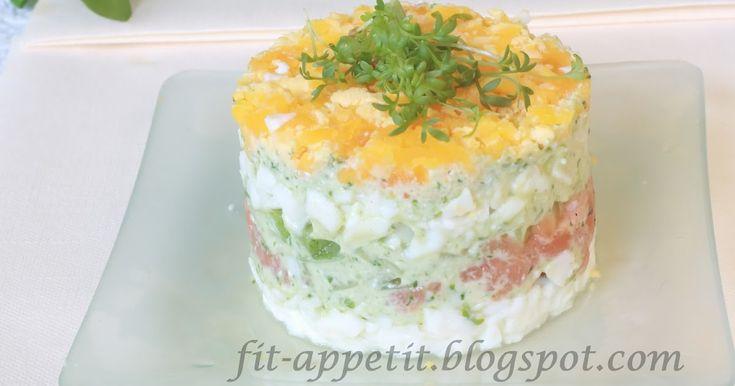 Coś eleganckiego, przepysznego, wykwintnego na Wielkanoc? Proszę bardzo :) Sałatka z łososiem Gravlax i majonezem z roszponki? Pewnie br...