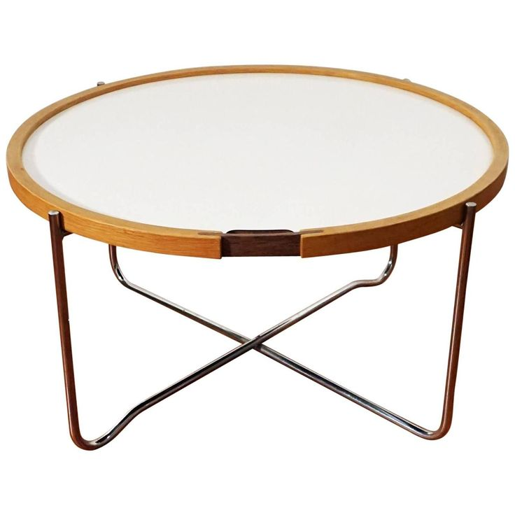 1960s Hans Wegner Reversible Top Table For GETAMA