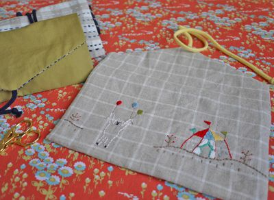 Summer Sewing ~ On-the-Go Project Pouch « Sew,Mama,Sew! Blog
