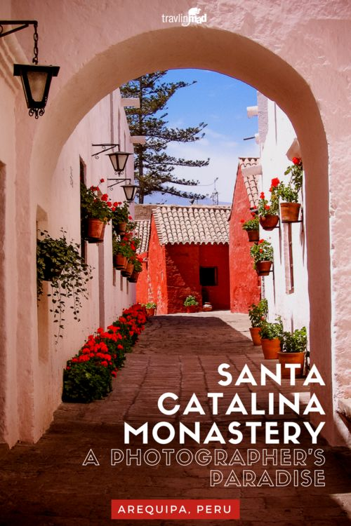 The historic and colorful Santa Catalina Monastery in Arequipa, Peru is a photographer's paradise. Definitely a must-see when you're in Arequipa or near the Colca Canyon!
