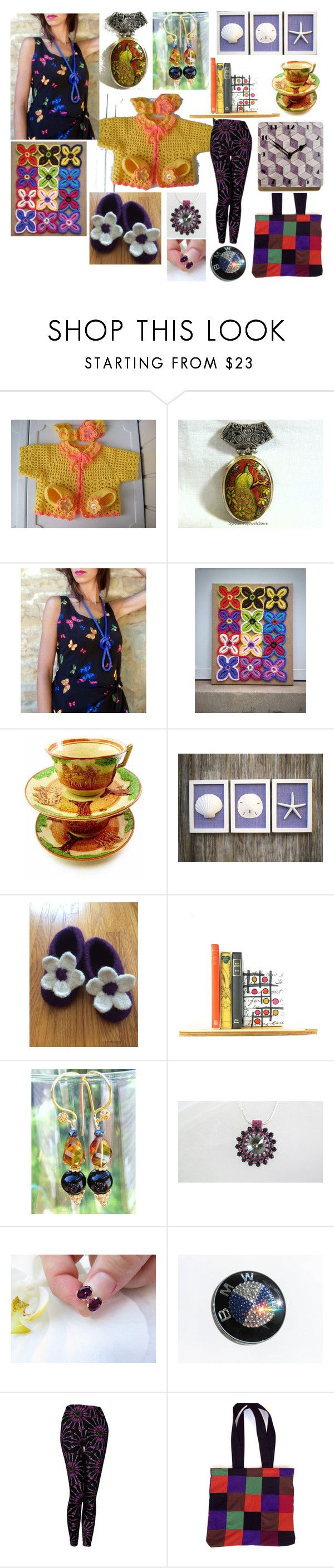 """Handmade Gifts Are Always in Style: ETSY"" by belladonnasjoy ❤ liked on Polyvore featuring Artista, BMW, Cadeau, modern, rustic and vintage"