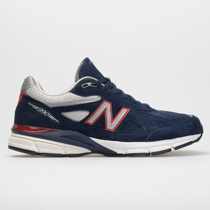 watch 6ea7c c2fe5 New Balance 990v4 Men's Blue/Red | New balance in 2019 | New ...