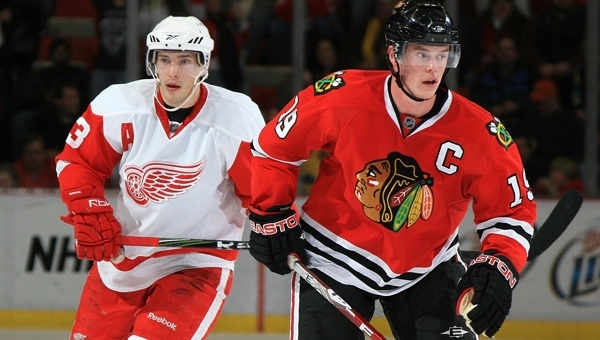 Jonathan Toews, Former Fighting Sioux!