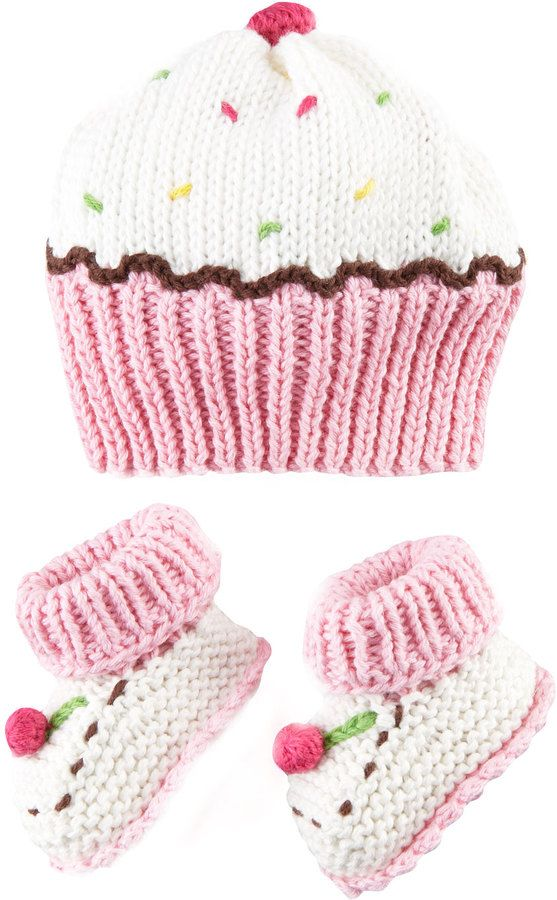 Shop for Art Walk Cupcake Hat and Bootie Set by Artwalk at ShopStyle. Now for Sold Out.