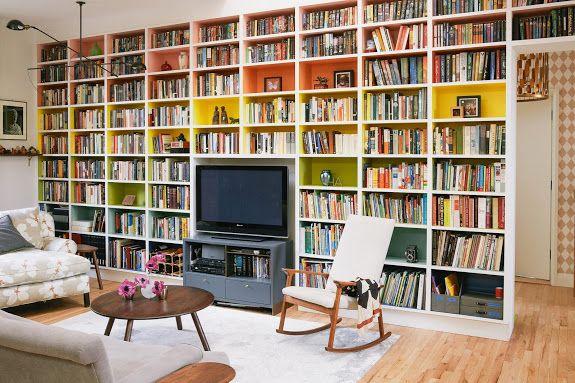 Billy bookcase storage