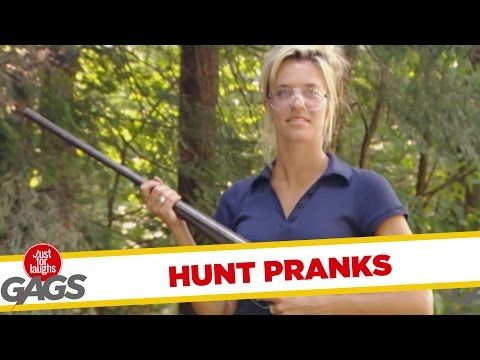 Best Hunt Pranks – Just for Laughs Gags … | Bear Tales http://beartales.me/2015/04/20/best-hunt-pranks-just-for-laughs-gags/