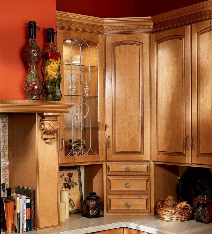 Contrasting Colors Kitchen Cabinets