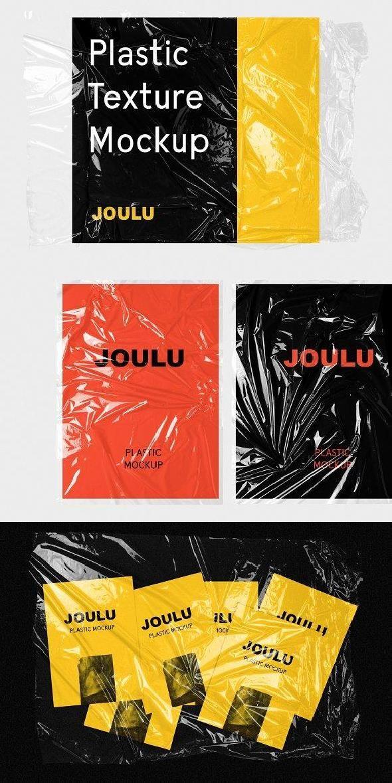 Joulu Plastic Wrinkle Mockup Graphic Design Mockup Graphic Design Posters Graphic Design Books