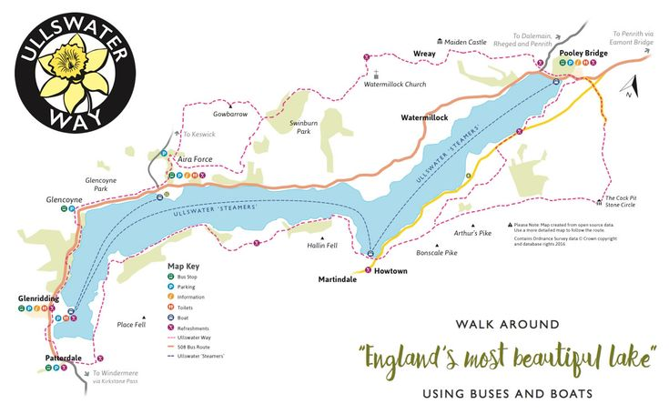 The Ullswater Way | 20 Mile Ullswater Walking Route