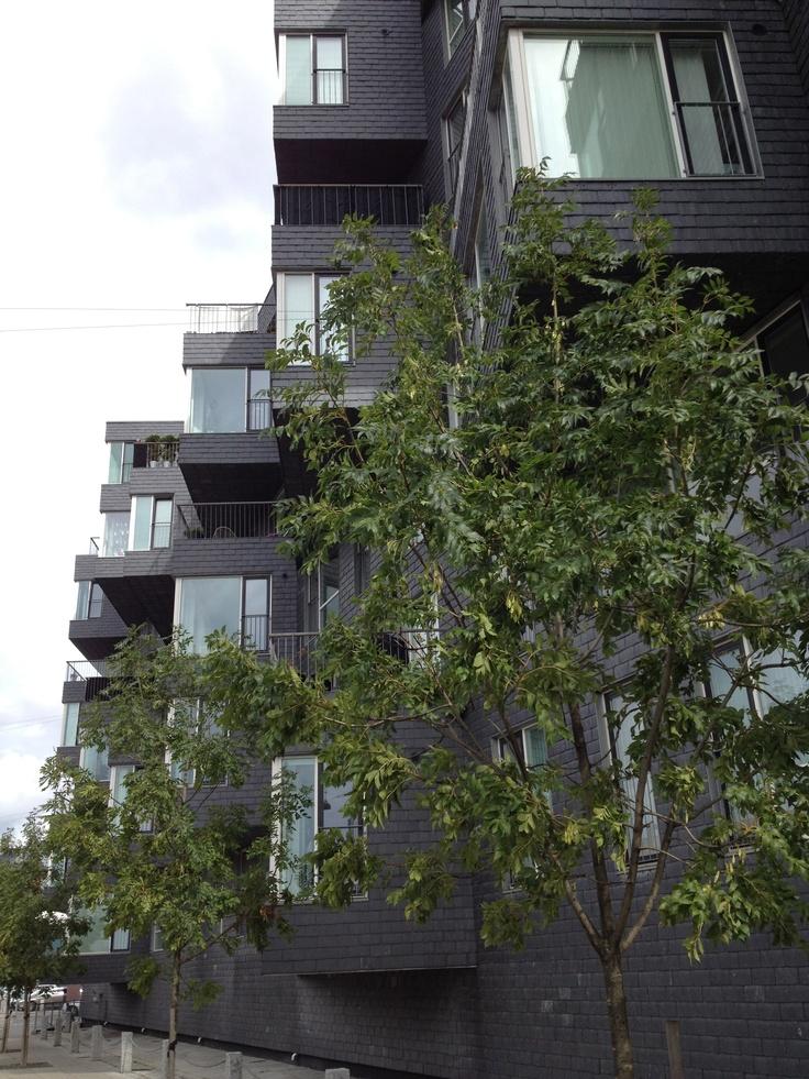 Copenhagen / Residential building at Nordhavn