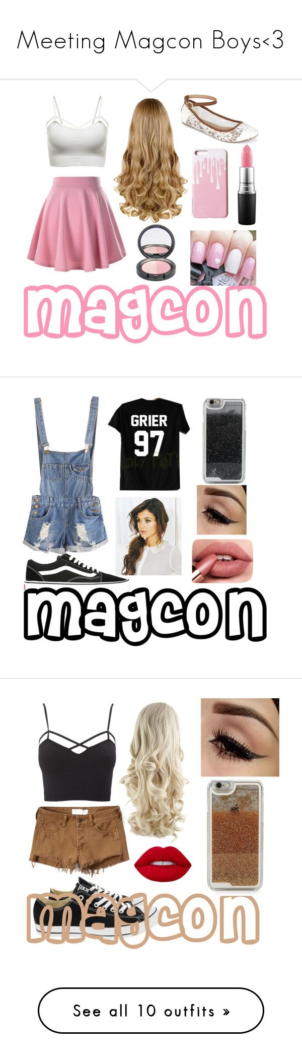 """Meeting Magcon Boys<3"" by gisele1164 ❤ liked on Polyvore featuring Call it SPRING, Vans, LMNT, Abercrombie & Fitch, Charlotte Russe, Converse, plus size clothing, Jimmy Choo, Casetify and Urban Decay"
