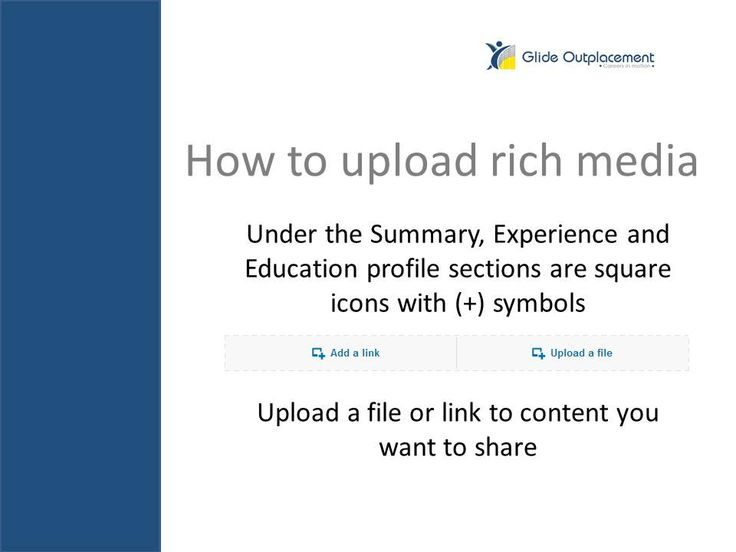 How To Upload Resume On Linkedin 12 Best How To Use Linkedin To Boost Your Job Searchglide