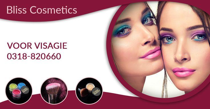 Ook voor visagie ben je bij Bliss Cosmetics aan het juiste adres. Info@bliss-cosmetics.nl - 0318-820330 - whatsApp 06-30672119  https://www.bliss-cosmetics.nl/visagie/  #visagie #bliss #cosmetics #whatsapp #minerale #foundation #bliss #cosmetics