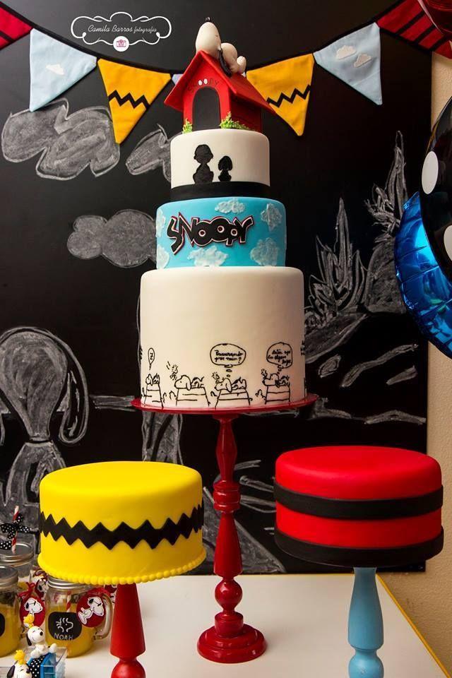 Ideia Criativas Festa Snoopy