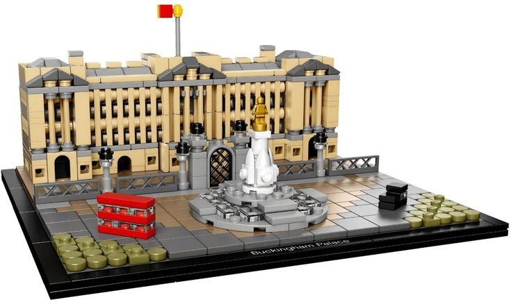 Lego Archticture Buckingham Palace (21029) | © LEGO Group - Lego Architecture Sets Sommer 2016: Produktbilder #8211; Capitol und Buckingham Palace http://zusammengebaut.com/lego-architecture-sets-sommer-2016-produktbilder-capitol-und-buckingham-palace-7145/ vía @