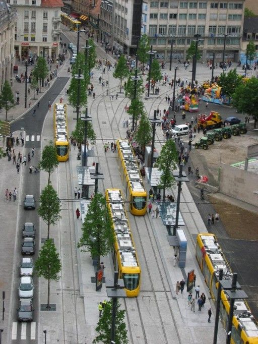 Mulhouse, France trams ,can't wait go in August