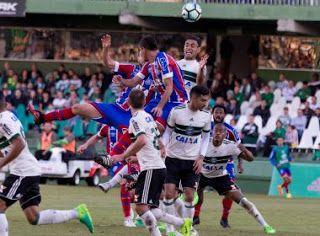 NONATO NOTÍCIAS: Em jogo truncado, Bahia empata com o Coritiba e co...