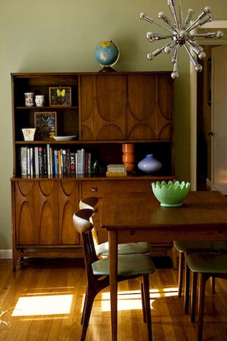 43 Impressive Mid Century Modern Dining Room Décor Ideas