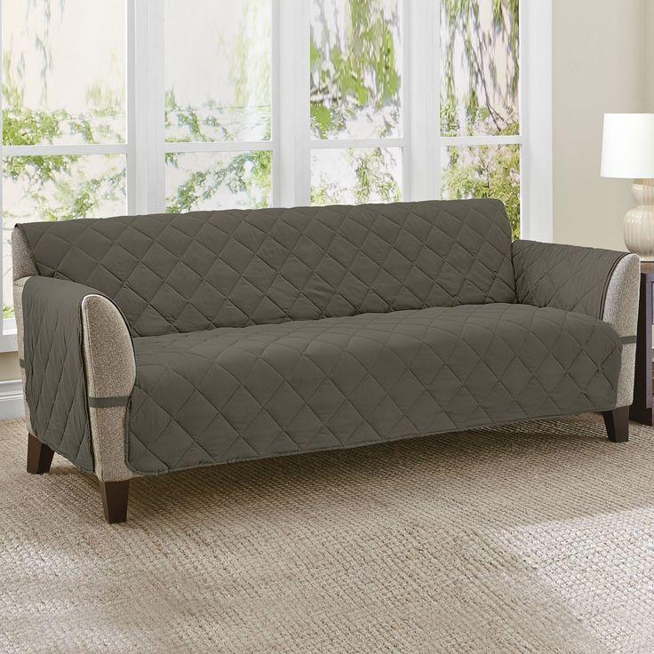 Microfiber Ultimate™ Extra Long Sofa Protector