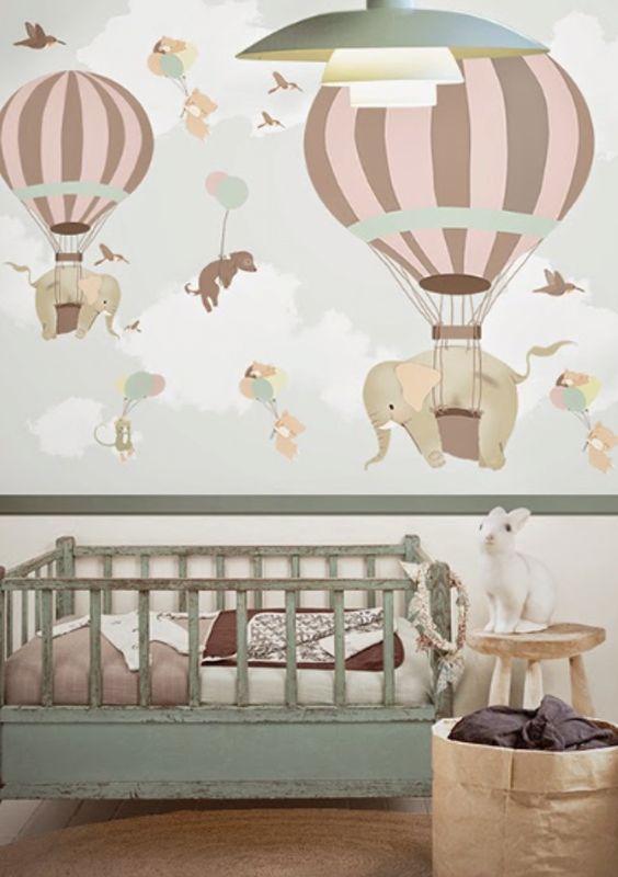Luftballoner med elefanter og andre dyr