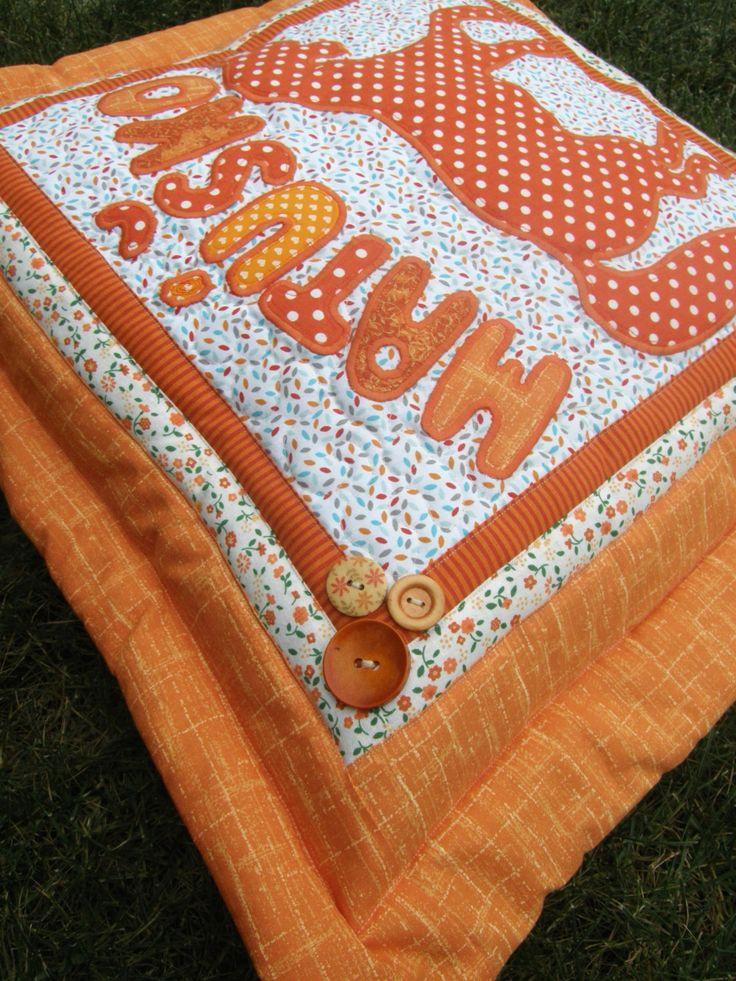 Name cushion No.7 by Kajura on Etsy