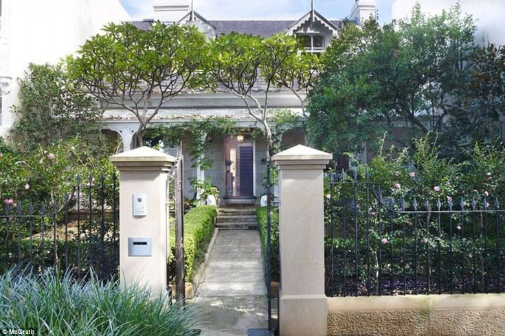 The two-storey terrace home was built in 1880, and is set on 379 square metres