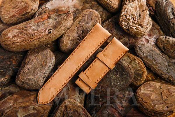 Nubuck Light Brown Leather Watch Strap,https://www.imperastraps.com