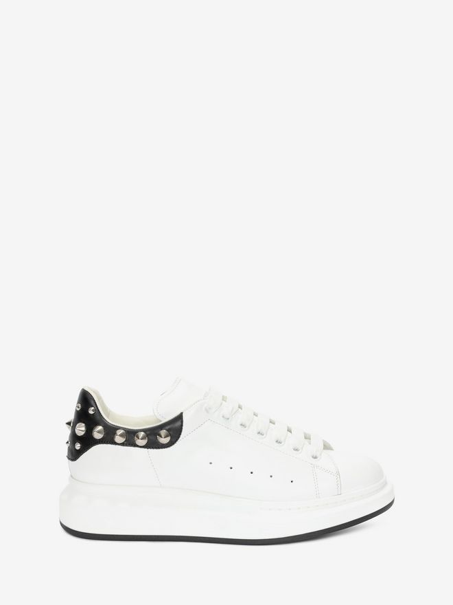The Hottest Styles Alexander Mcqueen Oversize Sneakers Bianco For Men Outlet