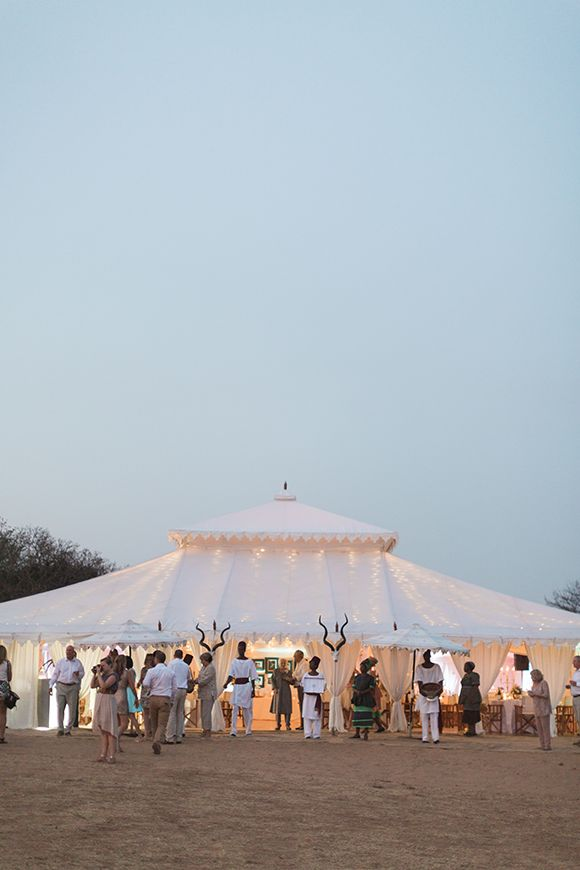 South African Game Reserve Wedding