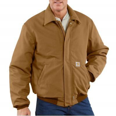 Carhartt Men's Flame Resistant Duck Bomber Jacket