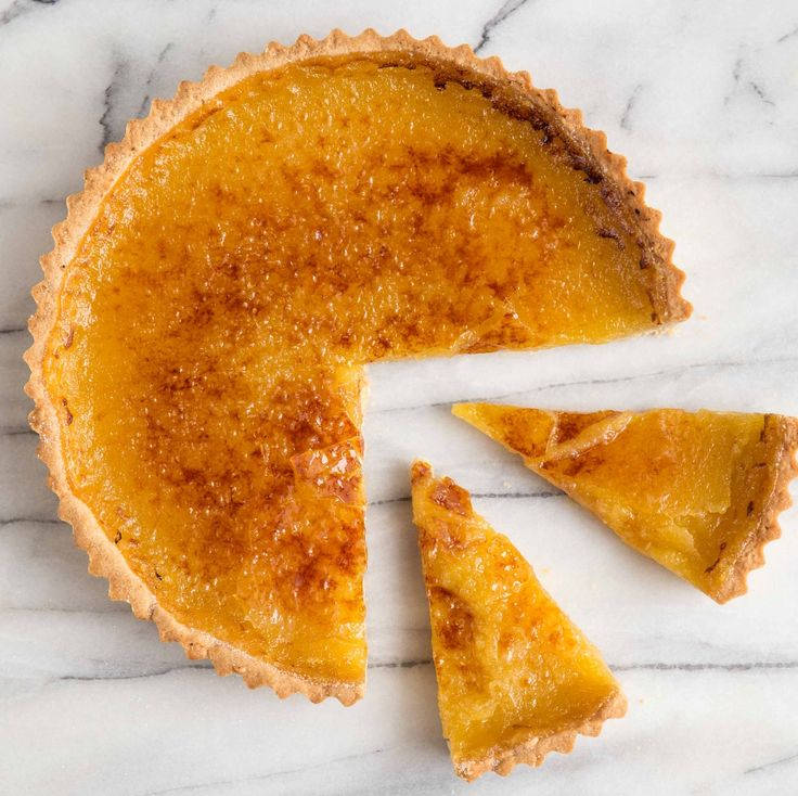... lemon tart with press in dough using pastry flour & almond flour