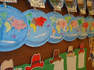 This is a great activity to integrate art with social studies. I