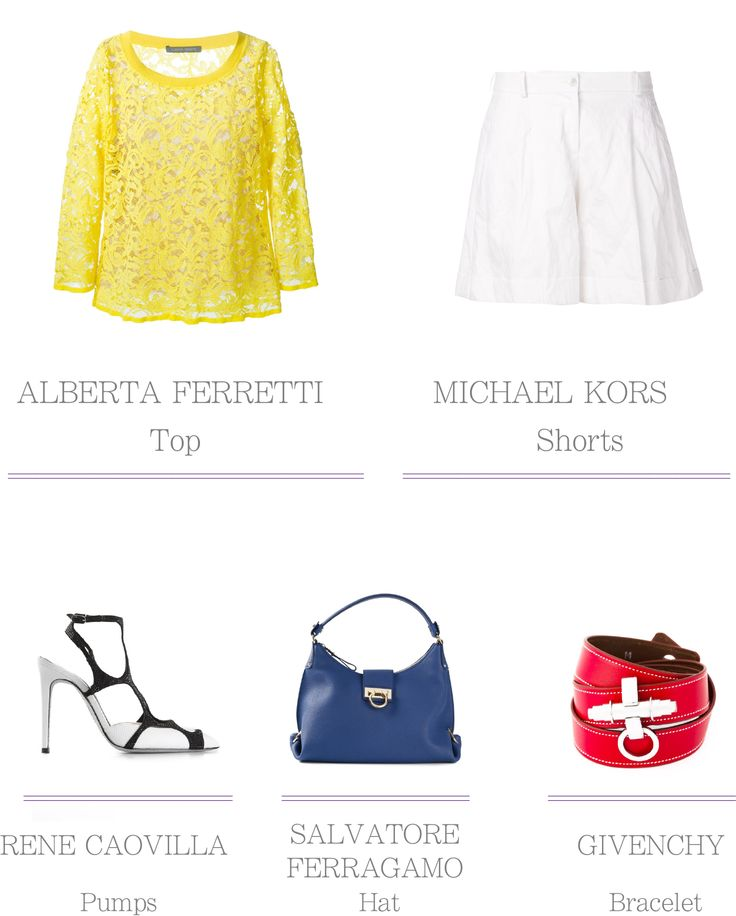 Apparel - Yellow, White, Red, Blue
