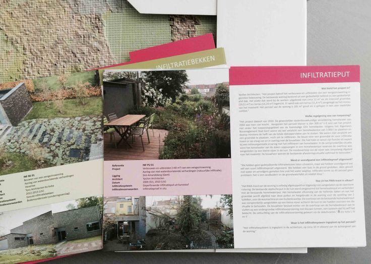 Regenwater infiltratie: Essentieel onderdeel van een Duurzaam Ontwerp. Voor meer informatie zie: http://r-chitect.nl/nieuws