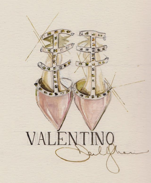 { Valentino Shoes by Dallas Shaw }
