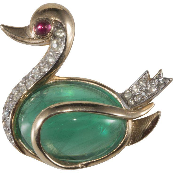 dating vintage trifari jewelry earrings