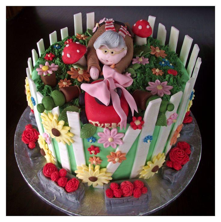 90th Birthday Cake Grandmas Birthday Party Ideas