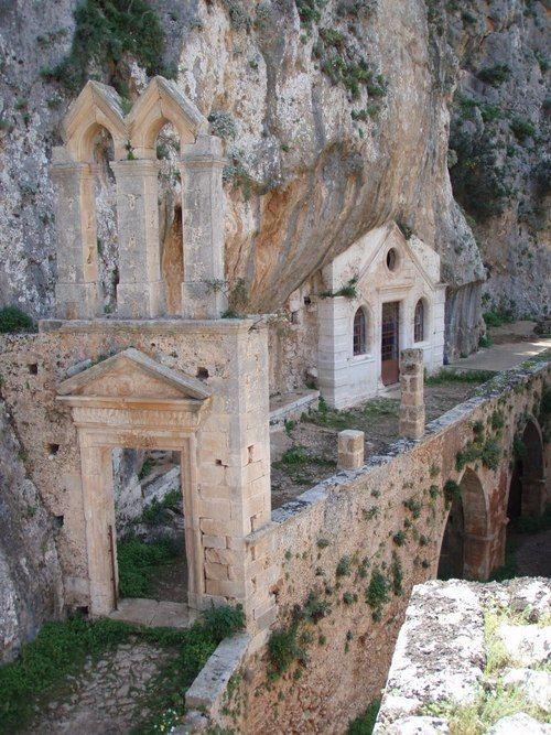 Katholiko monastery of Chania ,Greece.