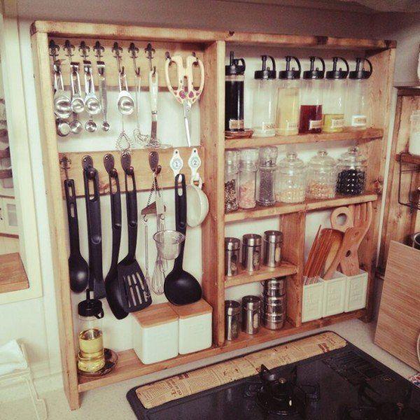 カフェ風のキッチン収納術まとめ   folk