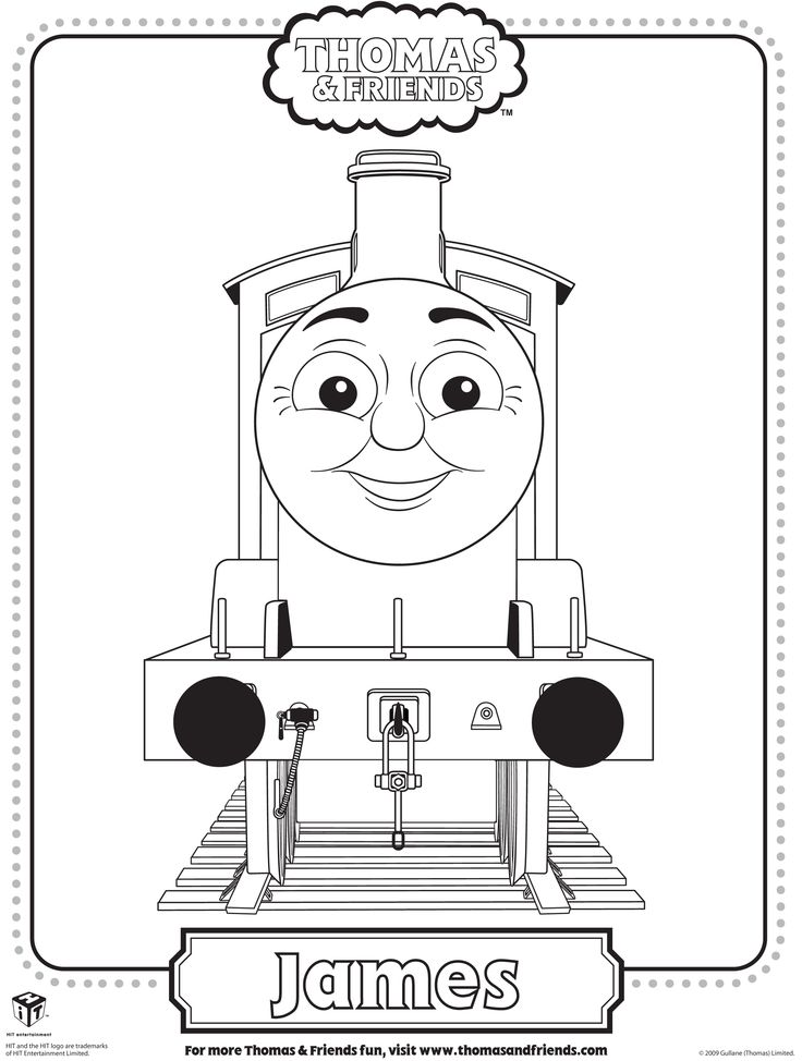 colouring pages of james in thomas tank google search - Thomas The Train Coloring Pages Free Printables