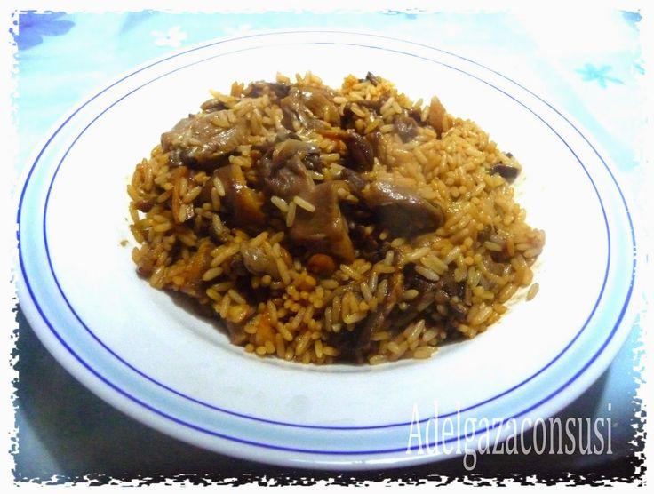 Adelgaza Con Susi: Arroz chino con setas ligero ( 285kcal)