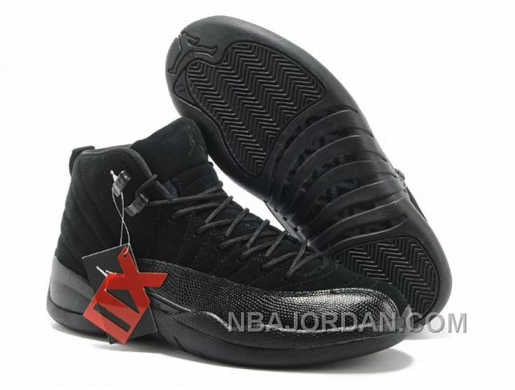 Now Buy Nike Air Jordan 12 Mens Anti Fur All Black Shoes New Save Up From  Outlet Store at Footlocker.