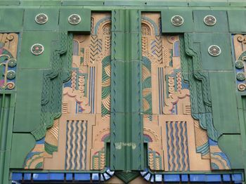 Tulsa, Oklahoma has a vast array of beautiful Art Deco buildings--a surprise to come across such an Art Deco oasis in the middle of the U.S.
