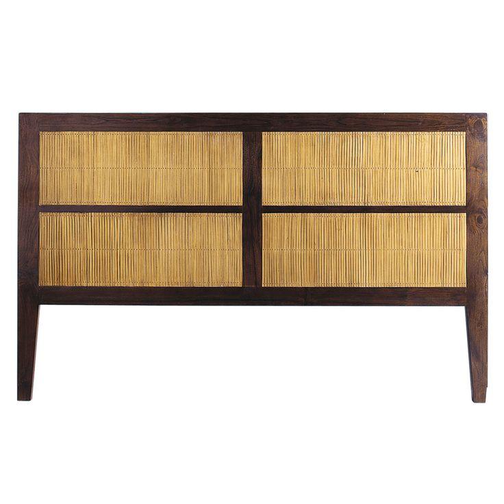 17 meilleures id es propos de t te de lit de bambou sur for Chambre a coucher en bambou