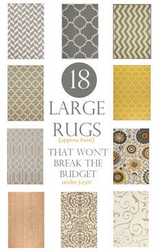 18 Large Rugs That Wonu0027t Break The Budget (8x10 Rugs For Under $250)