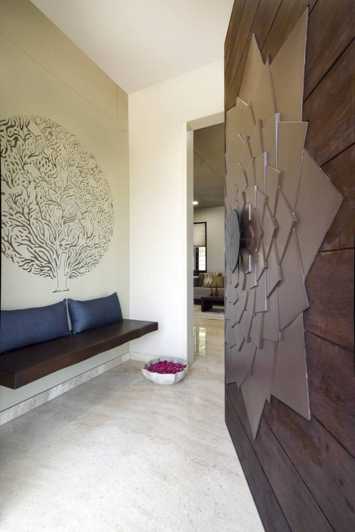 Vaibhav Residence A T Associates With Images Door Design