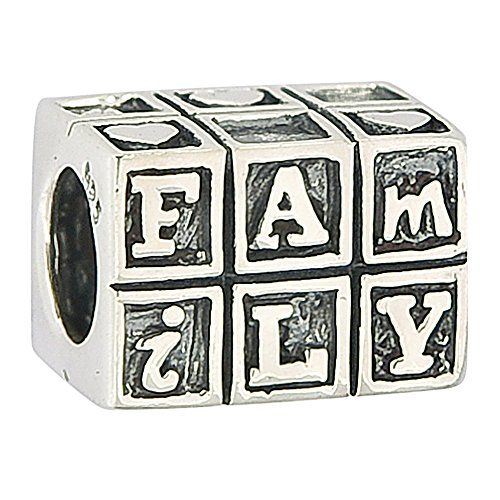 Love Family Cubic Authentic Sterling Silver Solid Family