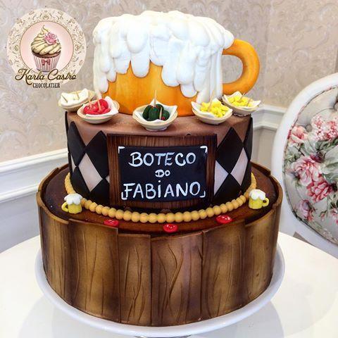 Bolo lindo de 3 andares tema boteco! Primeiro representou um baú. O segundo toalha da mesa e o último um enorme caneco de chop! Adorei fazer esse projeto! #❤️❤️ #karlacastrochocolatier #ateliêkarlacastro #instacake #buteco #cakedesign #cakes #cake #cakelover #cakemaker #cakestagram #cakedesigner #cakedecor #cakeoftheday #cakeday #cakedecorating #cake #cakeart #artcake #cakedesign #boteco #shopp # # #encontrandoideias #bolobuteco